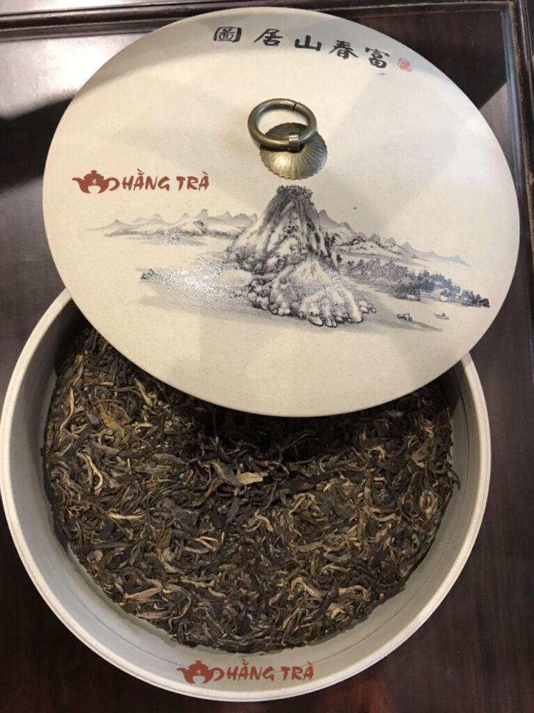 bảo quản trà phổ nhĩ