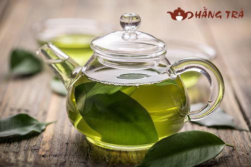 cách nấu lá trà xanh tươi