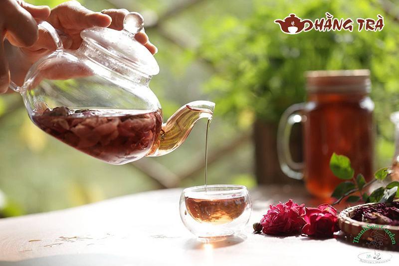 cách pha trà thảo mộc